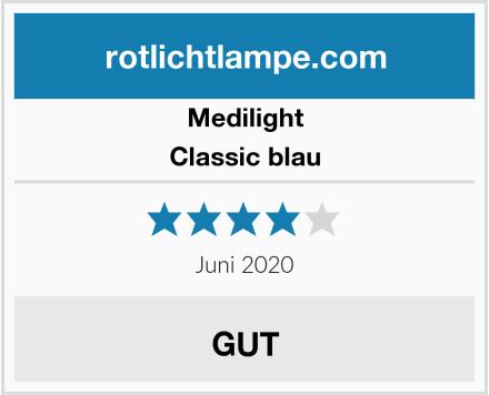 Medilight Classic blau Test