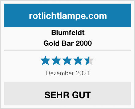 Blumfeldt Gold Bar 2000 Test