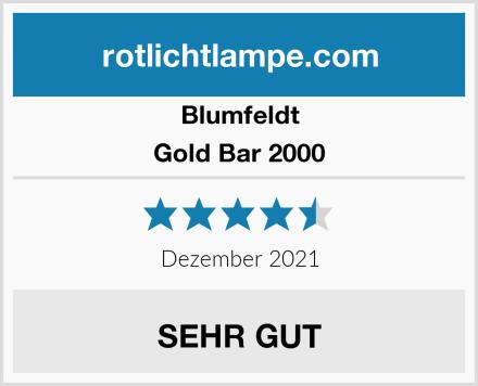 Blumfeldt Gold Bar 2000 Test