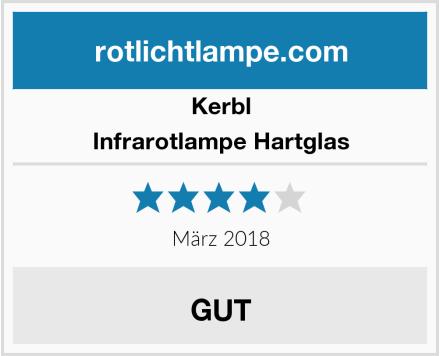 Kerbl Infrarotlampe Hartglas Test