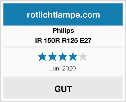 Philips IR 150R R125 E27 Test