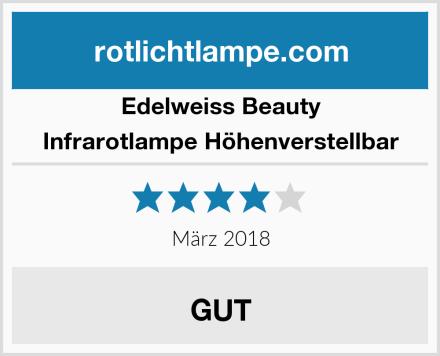 Edelweiss Beauty Infrarotlampe Höhenverstellbar Test
