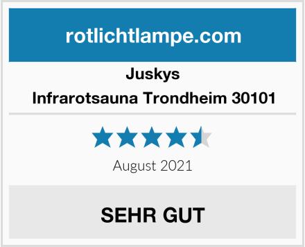 Juskys Infrarotsauna Trondheim 30101 Test