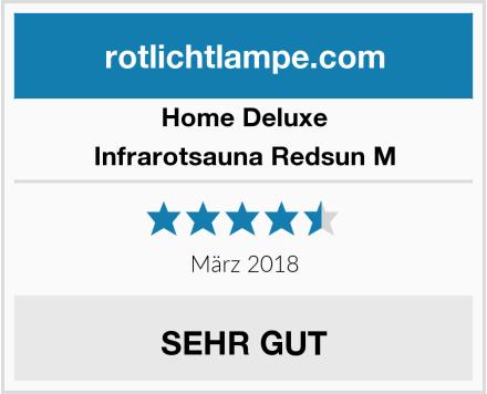 Home Deluxe Infrarotsauna Redsun M Test