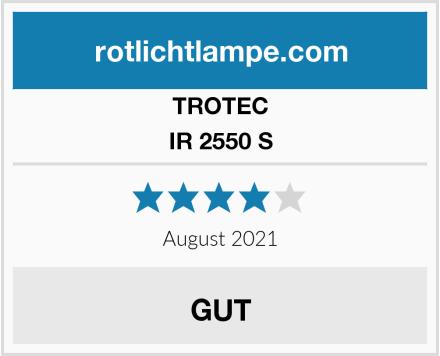 TROTEC IR 2550 S Test