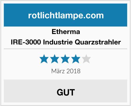 Etherma IRE-3000 Industrie Quarzstrahler Test