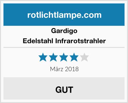 Gardigo Edelstahl Infrarotstrahler Test