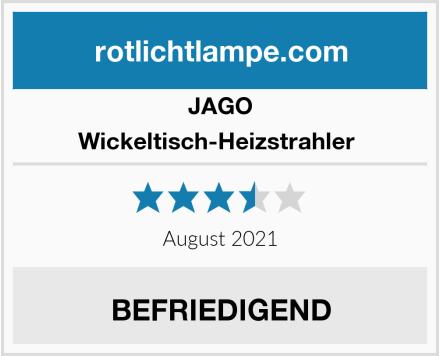 Jago Wickeltisch-Heizstrahler  Test