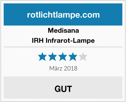 Medisana IRH Infrarot-Lampe Test