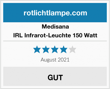 Medisana IRL Infrarot-Leuchte 150 Watt Test