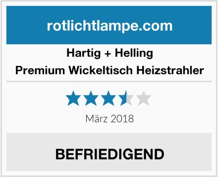 Hartig + Helling  Premium Wickeltisch Heizstrahler Test