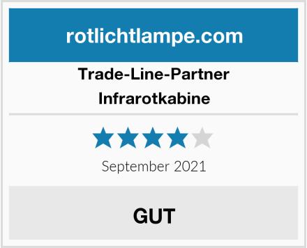 Trade-Line-Partner Infrarotkabine Test