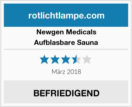 Newgen Medicals Aufblasbare Sauna Test