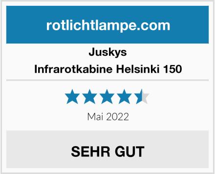 Juskys Infrarotkabine Helsinki 150 Test