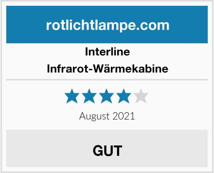 Interline Infrarot-Wärmekabine Test