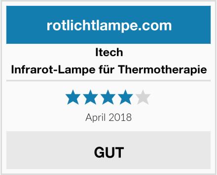 Itech Infrarot-Lampe für Thermotherapie Test