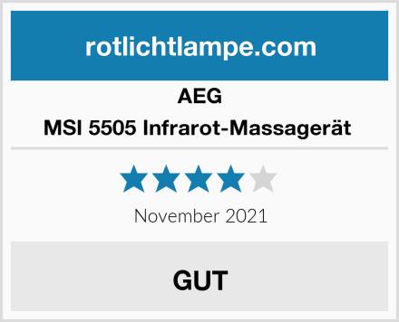 AEG MSI 5505 Infrarot-Massagerät  Test