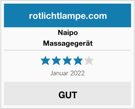 Naipo Massagegerät Test