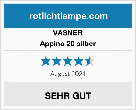 VASNER Appino 20 silber Test