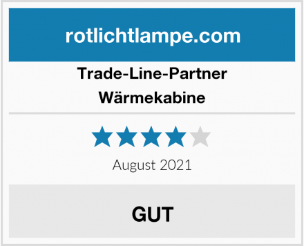 Trade-Line-Partner  Wärmekabine Test
