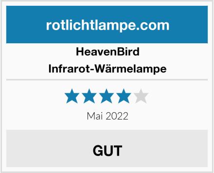 HeavenBird Infrarot-Wärmelampe Test