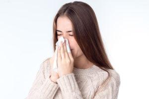 Rotlichtlampe bei Erkältungen richtig einsetzen