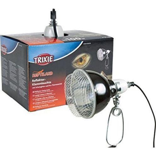 Trixie Reflektor-Klemmleuchte mit Schutzgitter