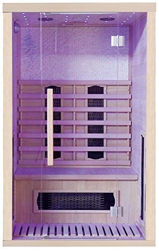 yourcasa infrarotkabine svett rotlichtlampe test 2018. Black Bedroom Furniture Sets. Home Design Ideas